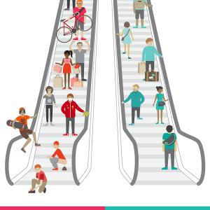 Proper Escalator Etiquettes #Infographic