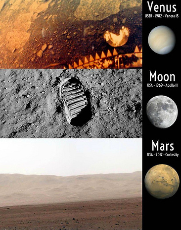 explain how planets and moons are explored - photo #2