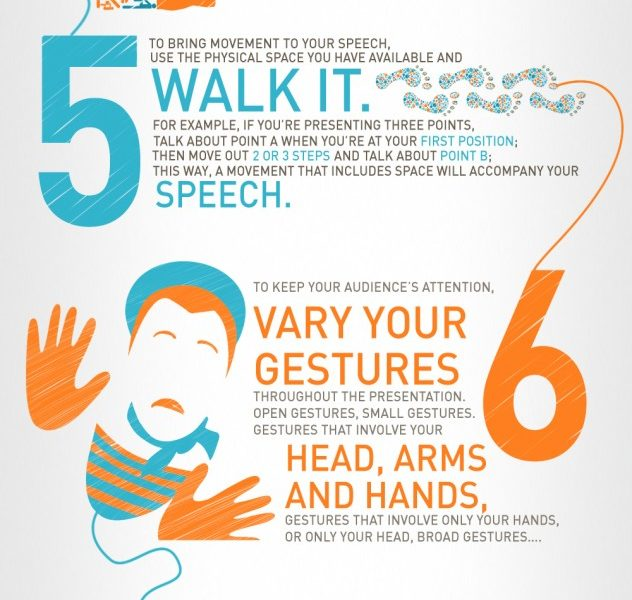 10 body language tips for presentations  infographic