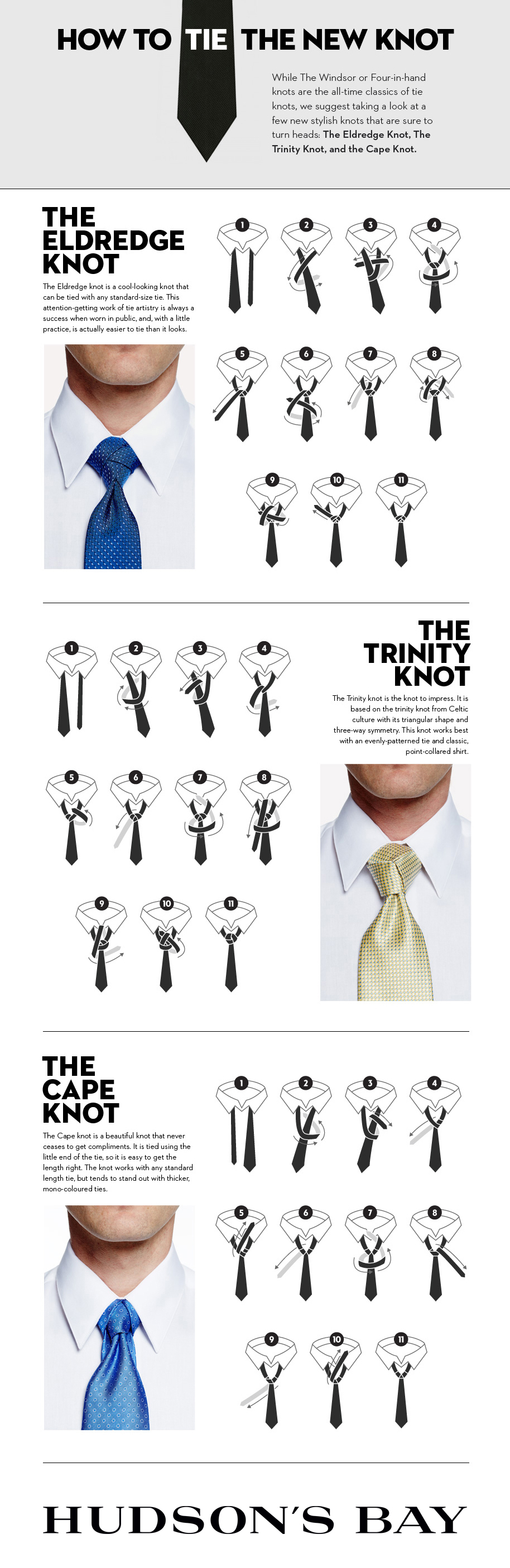 Most fashionable tie knot 20