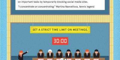 Productivity Tips for Busy Professionals {Infographic}