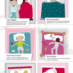 What Are Your Sleeping Habits? {Infographic}