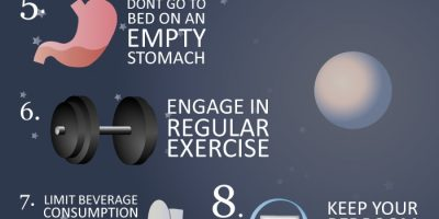 10 Tips to Sleep Better {Infographic}