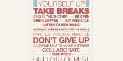 How To Stay Creative – 29 Ways {Infographic}