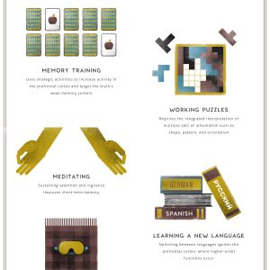 Can You Make Yourself Smarter? {Infographic}