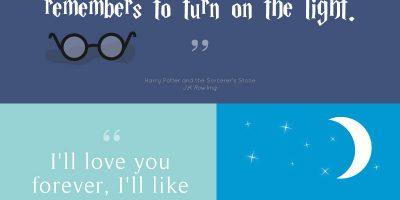 Inspiring Children's Book Quotes {Infographic}