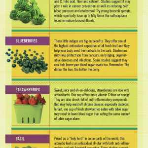 Surprising Facts About Fruits & Veggies {Infographic}
