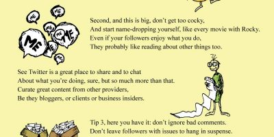 Dr Seuss Inspired Guide To Twitter [Infographic]