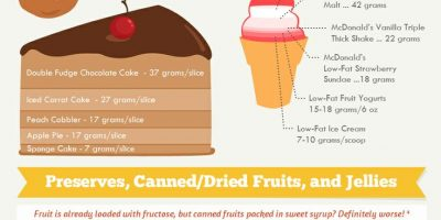 Avoiding Fructose Overload {Infographic}
