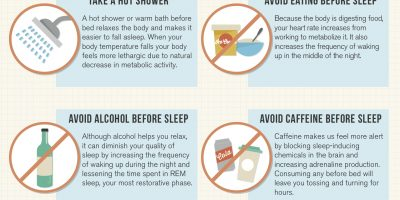 Get a Better Night of Sleep {Infographic}