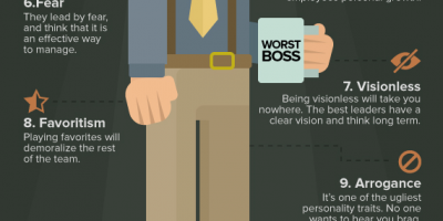 How to Avoid Being a Horrible Boss {Infographic}