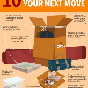 Packing Hacks For Your Next Move {10 Tips}