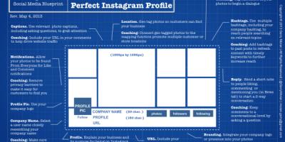 Perfect Instagram Profile {Infographic}