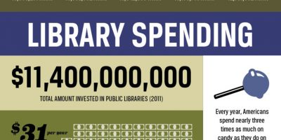 America's Libraries {Infographic}