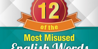 Misused English Words Infographic