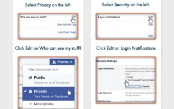 Staying Safe on Facebook {Infographic}
