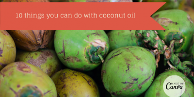 10 Things You Can Do With Coconut Oil [Infographic]