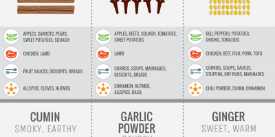 Flavoring with Spices [Infographic]