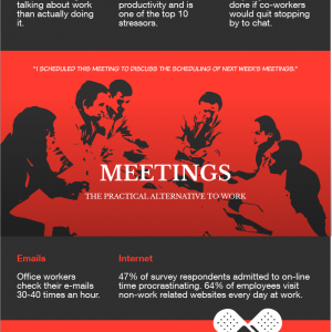 10 Biggest Office Distractions [Infographic]