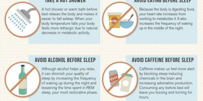 Sleep Guide to Wellness {Infographic}