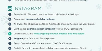 Social Media To-Dos for the Holiday Season {Infographic}