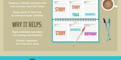15 Ways To Beat Procrastination {Infographic}