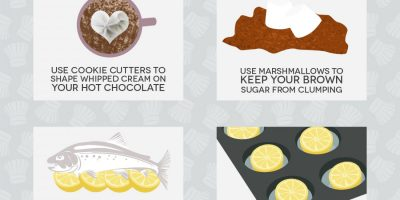 50 Culinary Hacks You Should Know {Infographic}