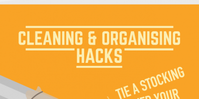 Clever Household Hacks You Need To Know {Infographic}
