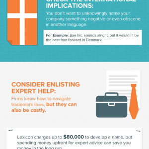 How to Name Your Company {Infographic}