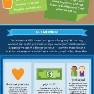 How to Become a Morning Person {Infographic}