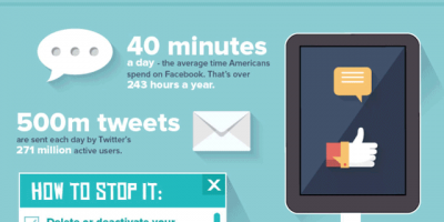 6 Bad Digital Habits &  How to Beat Them {Infographic}