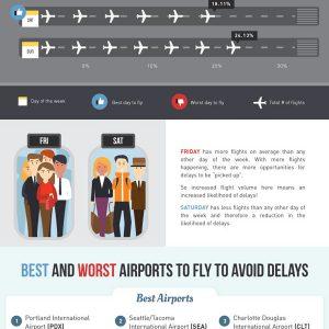 How to Avoid Flight Delays {Infographic}