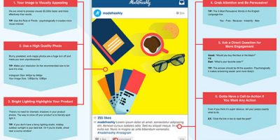 The Perfect Instagram Post {Infographic}