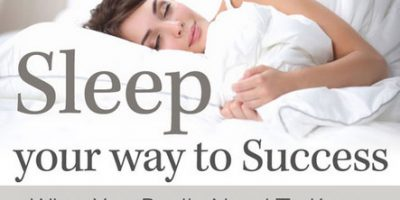 Sleep Your Way To Success {Infographic}