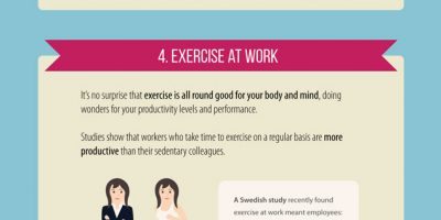 6 Productivity Hacks {Infographic}