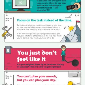 7 Ways to Stay Motivated at Work {Infographic}