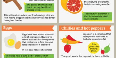 Fat Burning Foods {Infographic}