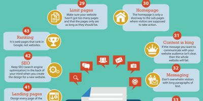 69 Web Design Tips {Infographic}