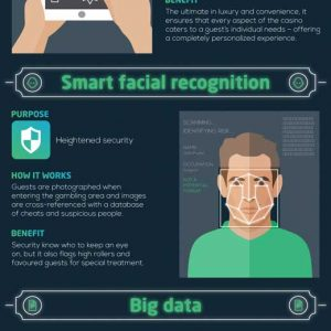 How Casinos Use Technology {Infographic}