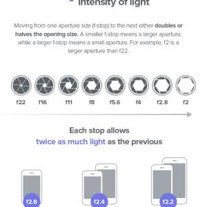 iPhone Camera Exposure Tips {Infographic}