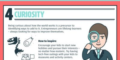 8 Entrepreneurial Skills You Should Teach Your Kids {Infographic}