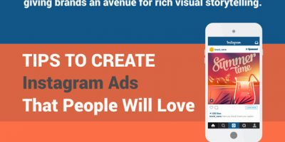 Anatomy of An Awesome Instagram Ad {Infographic}
