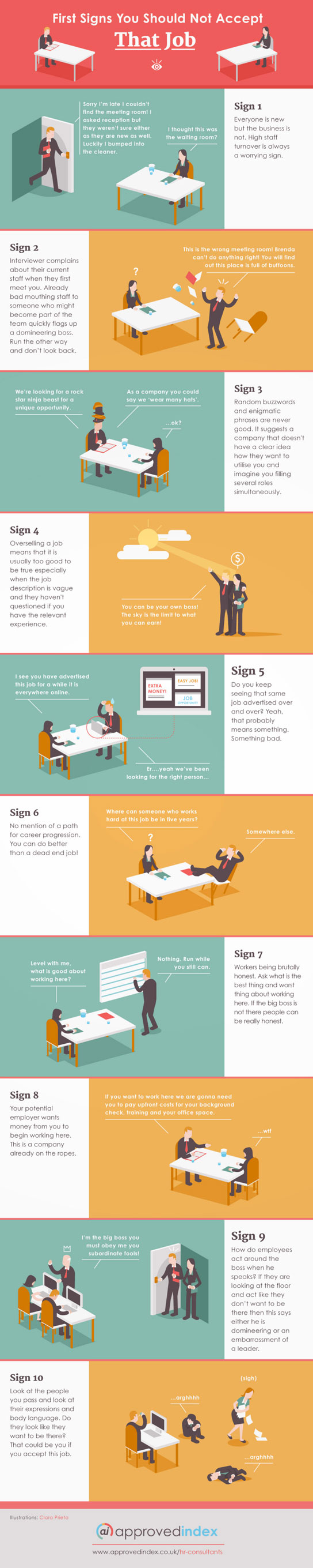 signs you should not accept a job offer infographic best job offer approval