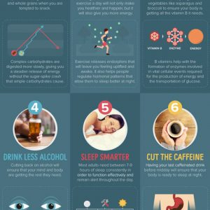 9 Ways to Energize Yourself When Tired {Infographic}