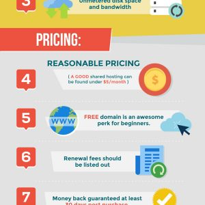 10 Things That Make a Web Hosting Good {Infographic}
