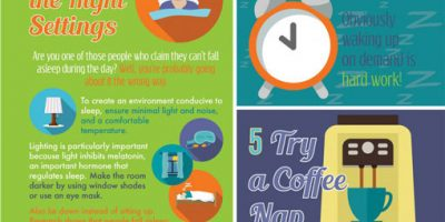 7 Steps to the Perfect Nap {Infographic}
