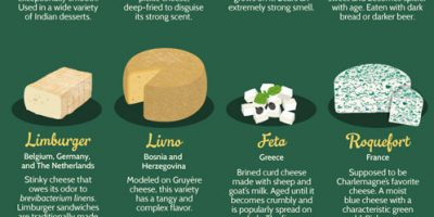 51 Cheeses From Around The World