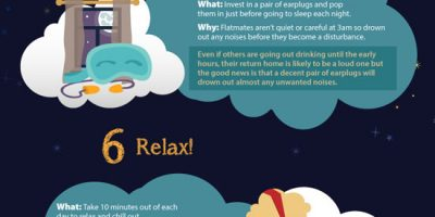10 Sleep Hacks for Students {Infographic}