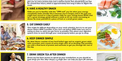 How to Lose 10 Pounds In Two Weeks {Infographic}