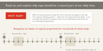 Health Benefits of Napping {Infographic}